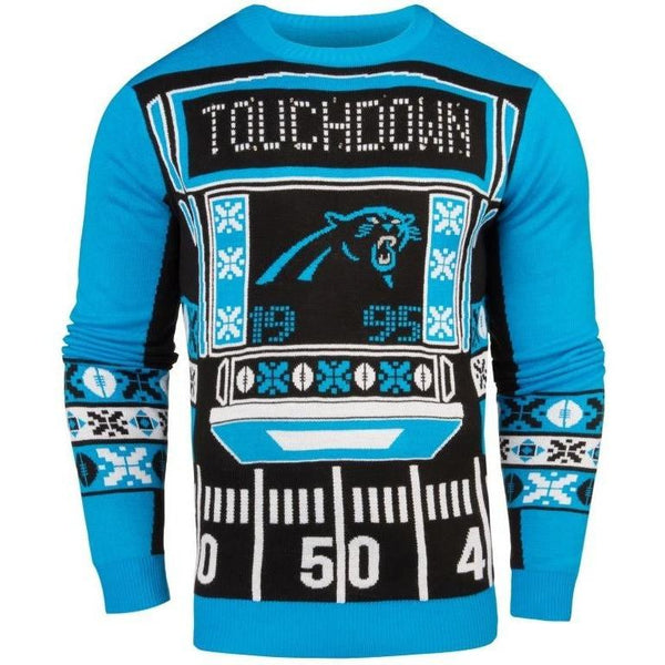 Carolina Panthers NFL Mens Light Up Sweater efcc57faf
