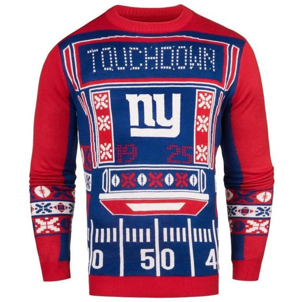 New York Giants NFL Mens Light Up Sweater 3878f1218
