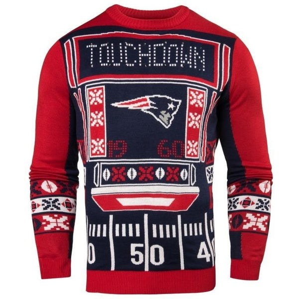 New England Patriots NFL Mens Light Up Sweater dfdba36c4