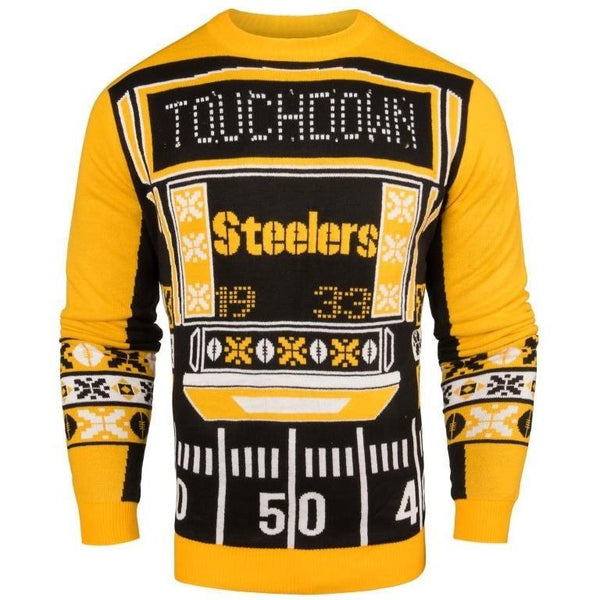 9a7632c2fe3 Pittsburgh Steelers NFL Mens Light Up Sweater