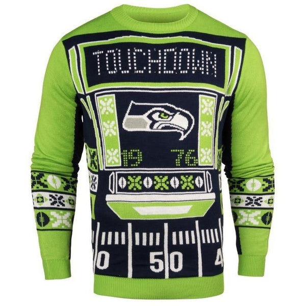 6aa84ce9b ... Printed Gradient V-Neck Shirt   59.99   69.99. Seattle Seahawks NFL Mens  Light Up Sweater