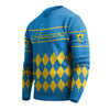 Los Angeles Chargers NFL Retro Ugly Sweater