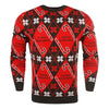 Chicago Blackhawks NHL Candy Cane Repeat Crew Neck Sweater