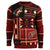 Arizona Coyotes NHL Patches Ugly Crew Neck Sweater
