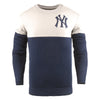 New York Yankees MLB Knit Half Color Sweater