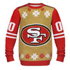 San Francisco 49ers NFL Jersey Design Ugly Sweater