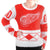 Detroit Red Wings NHL Eyelash Ugly Sweater