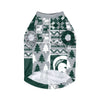Michigan State Spartans NCAA Busy Block Dog Sweater (PREORDER - SHIPS EARLY NOVEMBER)