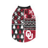 Oklahoma Sooners NCAA Busy Block Dog Sweater (PREORDER - SHIPS LATE NOVEMBER)