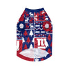 New York Giants NFL Busy Block Dog Sweater