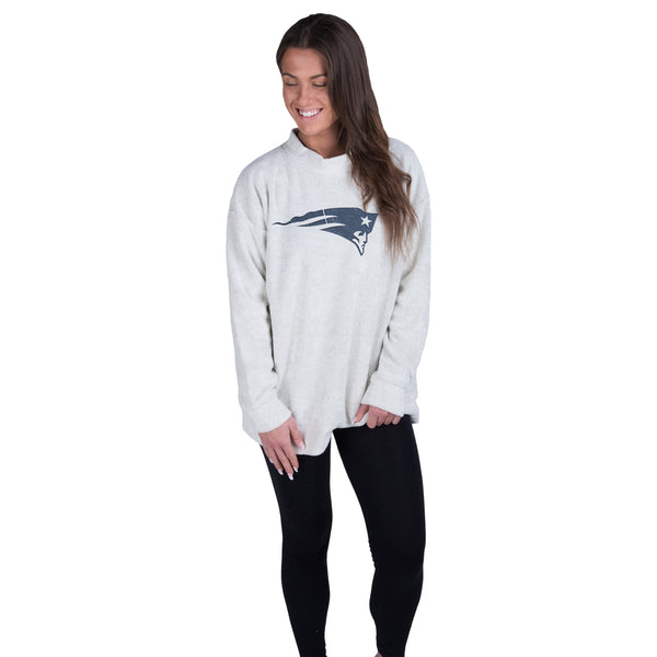 New England Patriots NFL Womens Oversized Comfy Sweater b1b614bbf