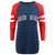 Boston Red Sox MLB Womens Stripe Sleeve Tunic