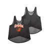 Baltimore Orioles MLB Womens Burn Out Sleeveless Top