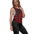 Atlanta Falcons NFL Womens Side-Tie Sleeveless Top