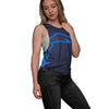 Los Angeles Chargers NFL Womens Side-Tie Sleeveless Top