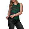 New York Jets NFL Womens Side-Tie Sleeveless Top