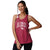 Arizona Cardinals NFL Womens Team Twist Sleeveless Top