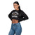 Baltimore Ravens NFL Womens Cropped Team Crewneck