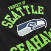 Seattle Seahawks NFL Womens Cropped Team Crewneck