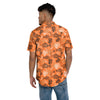 San Francisco Giants MLB Mens Floral Button Up Shirt