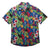 Texas Rangers MLB Mens Floral Button Up Shirt