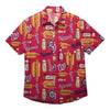 Washington Nationals MLB Mens Grill Pro Button Up Shirt