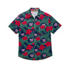 Washington Nationals MLB Mens Hibiscus Button Up Shirt