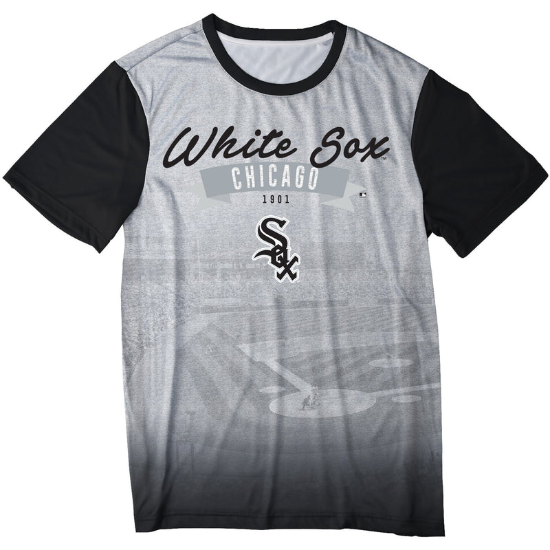 new arrival 4d5b6 aef05 Chicago White Sox MLB Mens Outfield Photo Tee Shirt