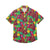 Cleveland Cavaliers NBA Mens Floral Button Up Shirt