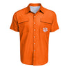 Clemson Tigers NCAA Mens Gone Fishing Shirt