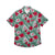 Alabama Crimson Tide NCAA Mens Hibiscus Button Up Shirt