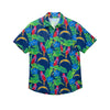 Los Angeles Chargers NFL Mens Floral Button Up Shirt