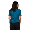 Philadelphia Eagles NFL Womens Ruched Replay Short Sleeve Top