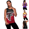 NFL Womens Strapped V-Back Sleeveless Top - Pick Your Team!