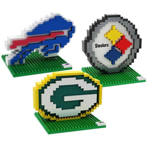 5975385fc3c NFL Team Logo 3D BRXLZ Puzzle Set - Pick Your Team!