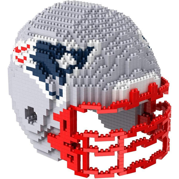 New England Patriots NFL 3D Helmet BRXLZ Puzzle (PRE ORDER - Delivered By 12-19)