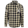 Pittsburgh Penguins Wordmark Basic Flannel Shirt