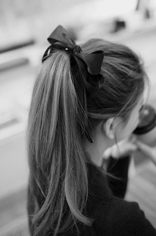 French Pony tail