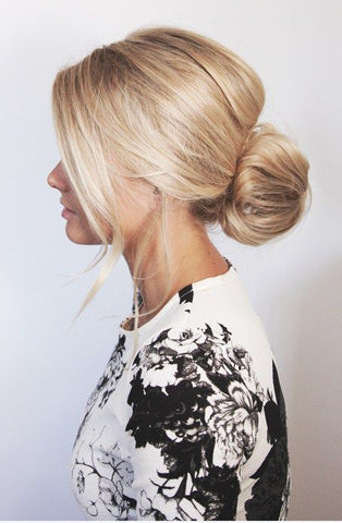 Messy Low-bun