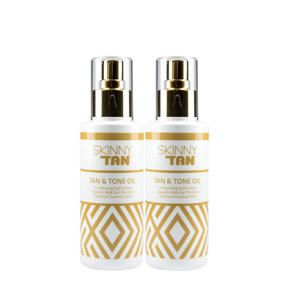 Buy One Get One FREE - Double Up Tan & Tone Oil 150ml Duo