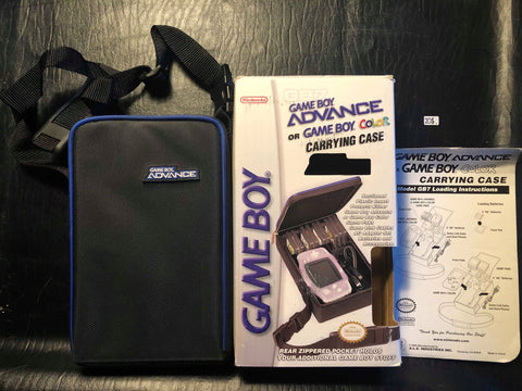 Carrying case GBA or GBC