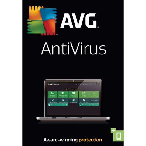 AVG AntiVirus 2016 - 1-Year / 3-Seat