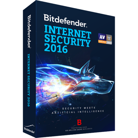 Bitdefender Internet Security 2016 - 1-Year / 3-PC