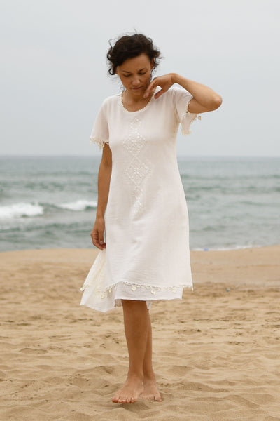 Aschil Dress - Natural
