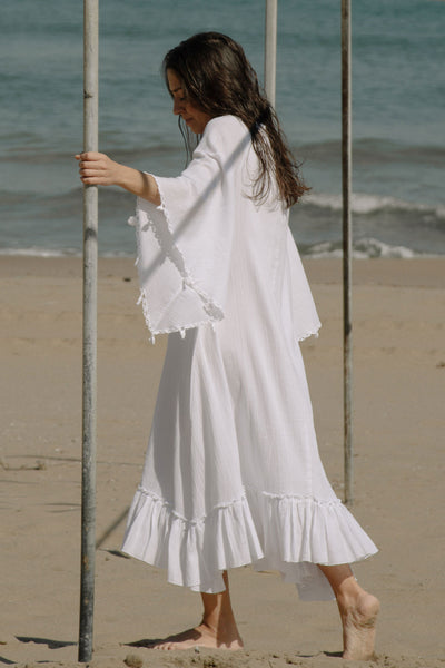 Shila Dress - Pure White