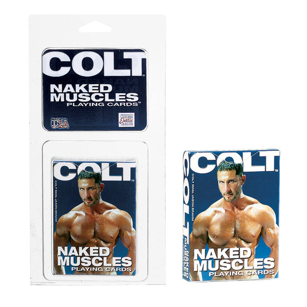 Colt Naked Muscle Playing Cards - Bulk SE6800401