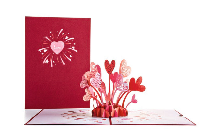 Love Explosion Pop-Up Valentines Gift Card by Lovepop