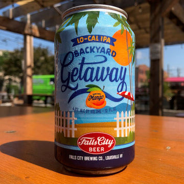 Backyard Getaway - Lo-Cal Mango IPA - Now Available