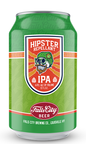 hipster repellent falls city beer