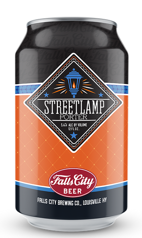 streetlamp falls city beer